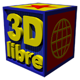 Logo of 3D libre